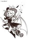 Celestialsiren - Batwitch by V-Mordecai