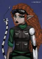Ork Decker by V-Mordecai