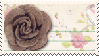 Brown Rose 3 Stamp