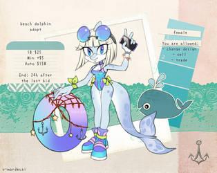 Beach Dolphin Adopt [closed]