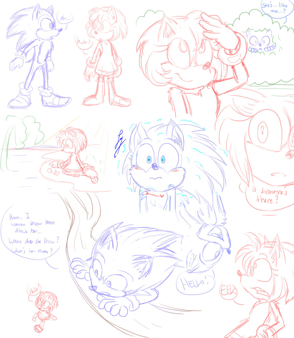 Sonic Movie Meets Amy By Natsuko The Mun On Deviantart