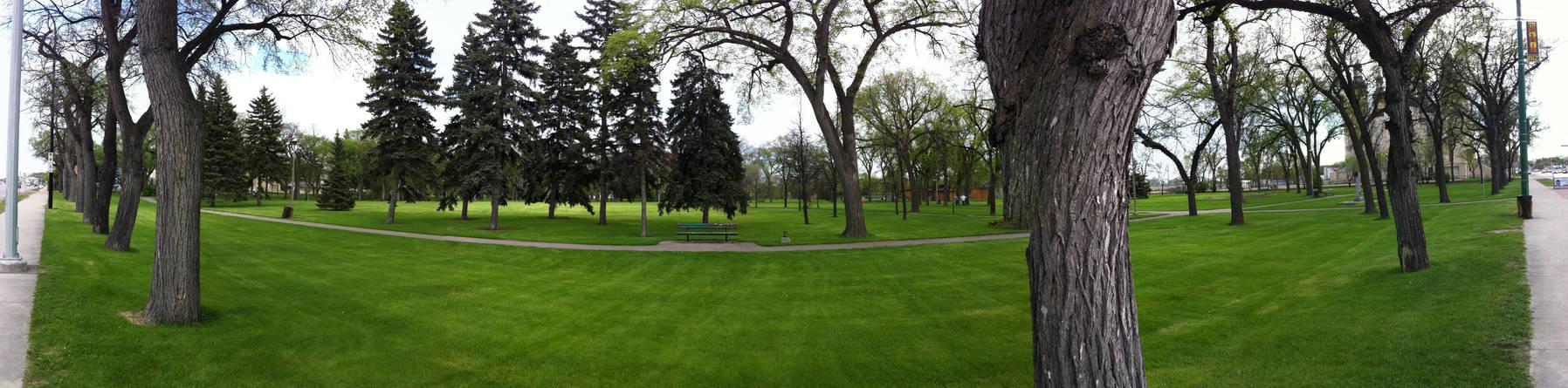 St. Johns Park Panorama
