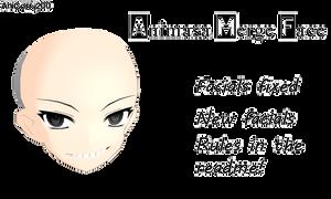 [MMD DL] Animasa Merge Face!