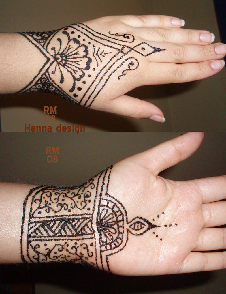 Henna Design 08 by La-Loca