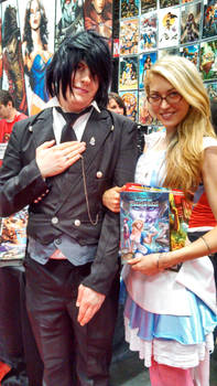 Sebastian and Alice cosplay