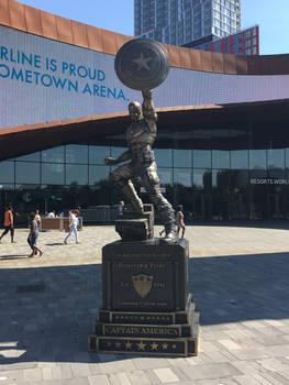 Statue of Captain America