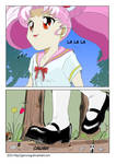 giantess chibi in forest