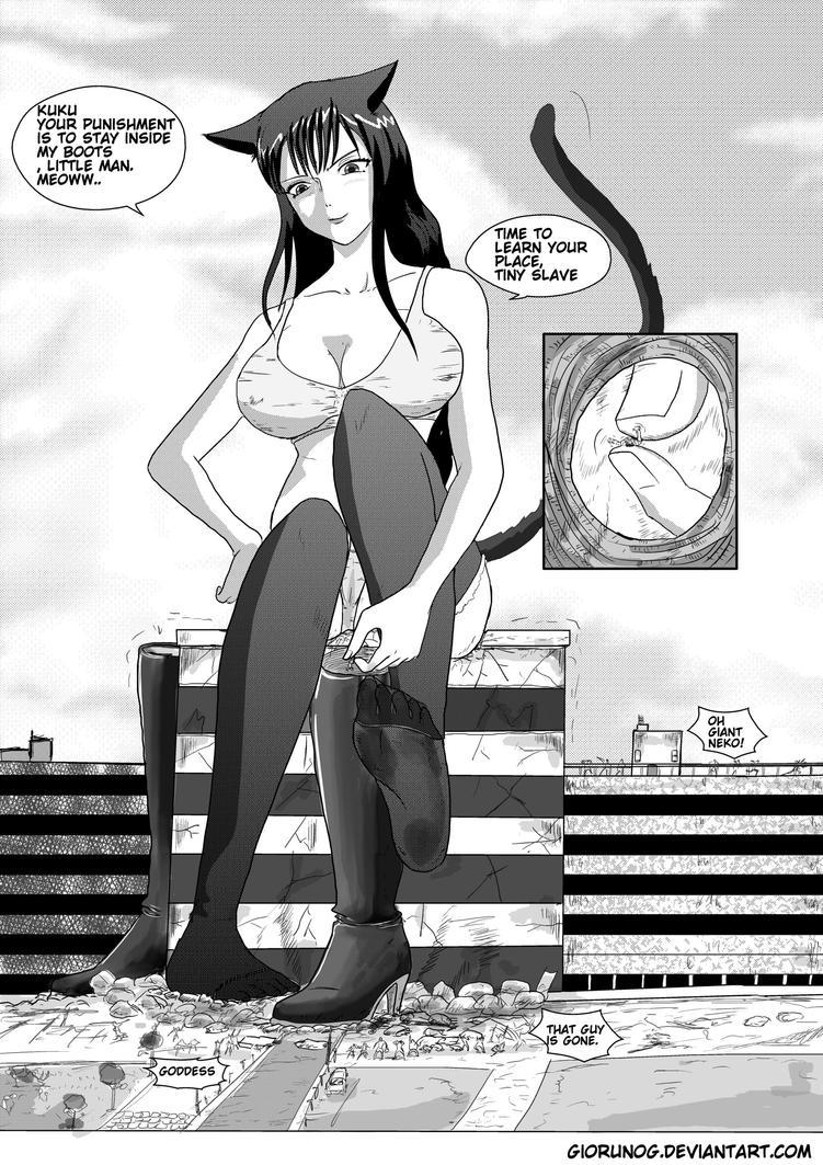 Giantess girl boot vore sex erotic scene