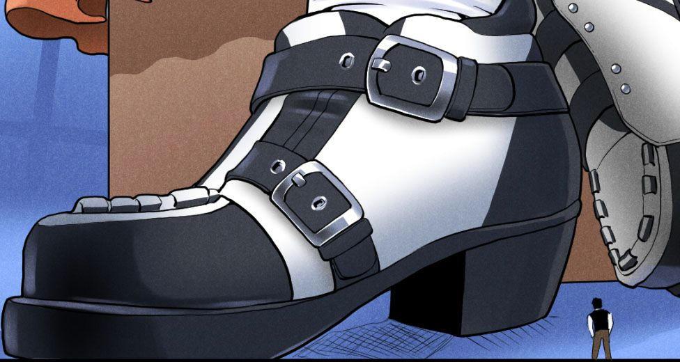 Marionette's shoes