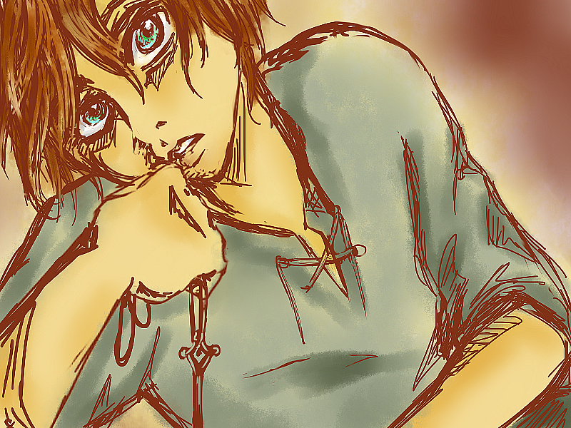 Eren doodle by McFearless1810
