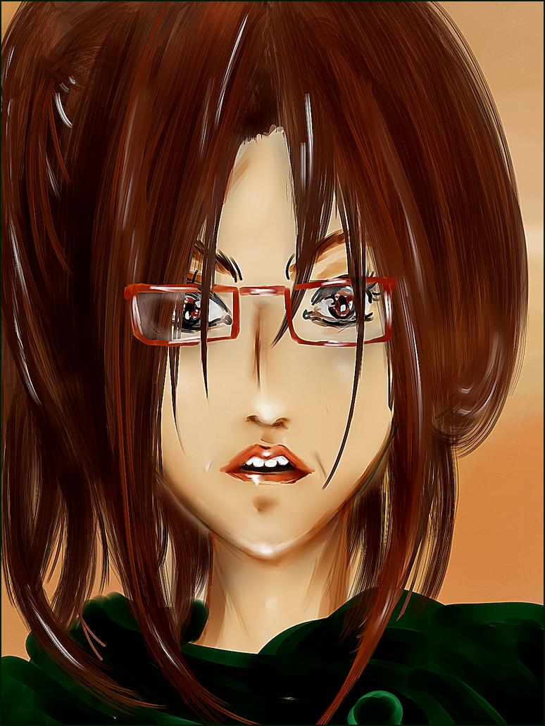 Hanji Zoe portrait by McFearless1810