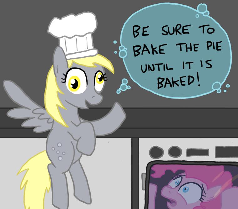 Bakin' a Pie by paper-pony