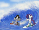 Surfing with the Rarity