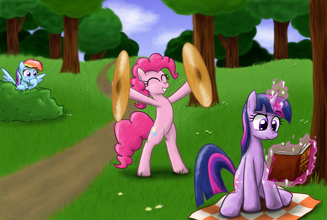 Pinkie Prank by paper-pony