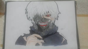 Tokyo ghoul - Kaneki | Hand Draw by Emariami