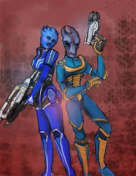 Mass Effect OCs