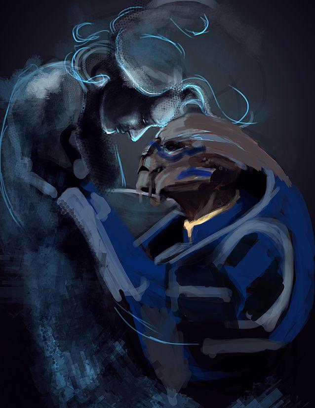 No Shepard Without Vakarian