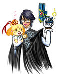 Bayonetta Protects Isabelle!