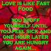 Love is like Fast Food by Leichenengel