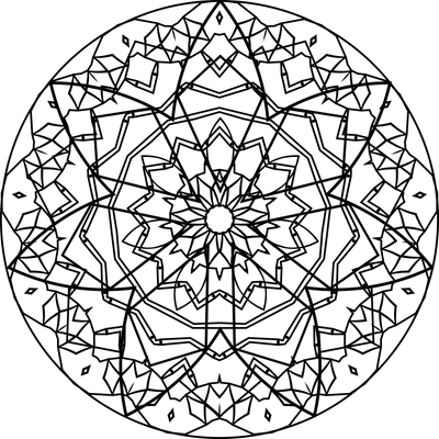 Mandala Template 04 by Leichenengel on DeviantArt