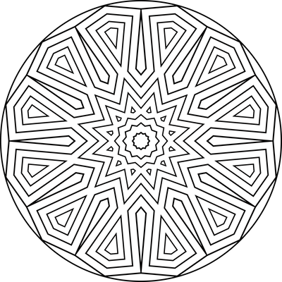 Mandala Template 25 by Leichenengel on DeviantArt