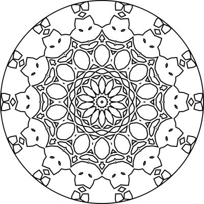 Mandala Template 68 by Leichenengel on DeviantArt