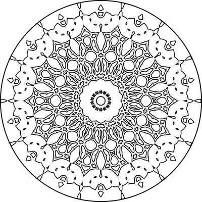 Mandala Template 69 by Leichenengel on DeviantArt