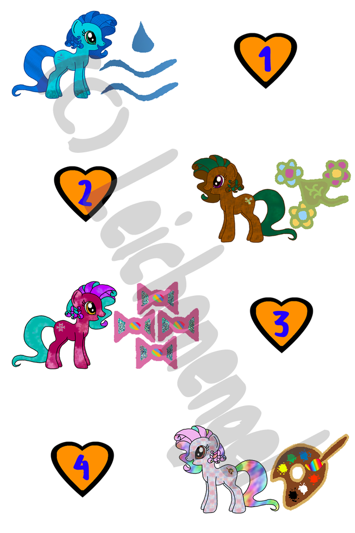 Pony Adopts Series 1 - OPEN by Leichenengel