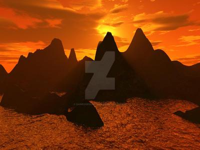Landscape 3D-5 by DameOdessaStock