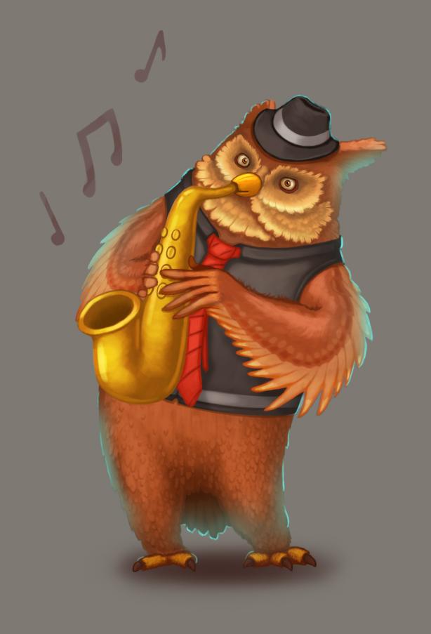 Owlman by Bear1037