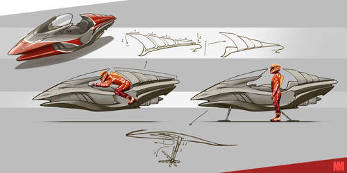 Hoverbike by Bear1037