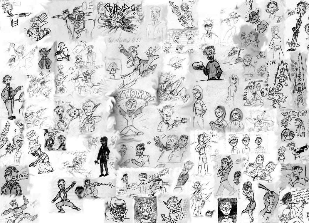 Verisimilitude Sketch Cluster by Mister-Cote on DeviantArt