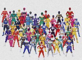 Power Rangers- Collage