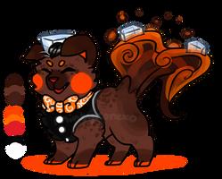 [Sushi Dog] Baron Jack by RilinFluff