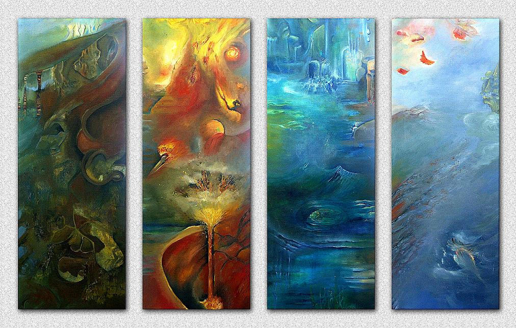 Elements In Artwork : Elements by ice wulf on deviantart
