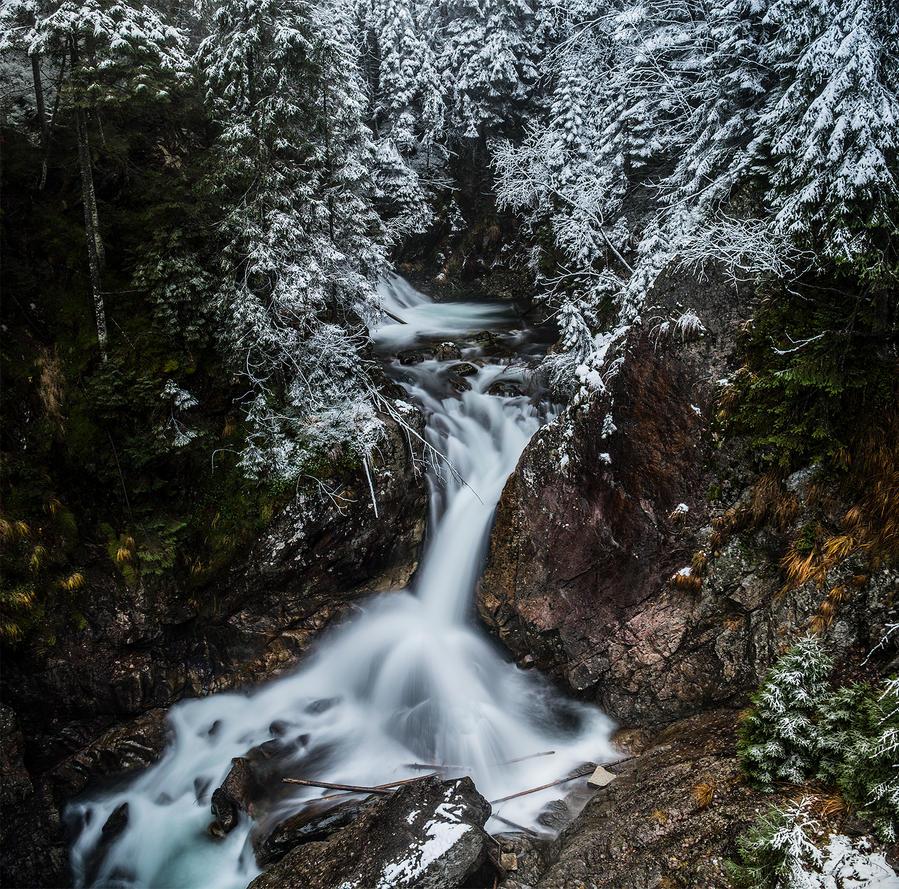 Mickiewicz Waterfalls. by jacekson