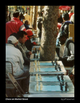Chess on Market Street