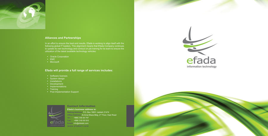 Company profile cover by sherif79 on deviantart for Design consultancy company profile