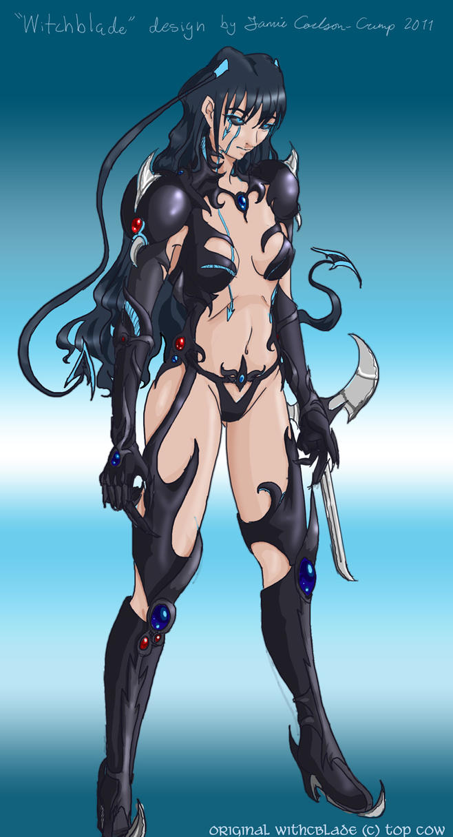 Witchblade Design - Colored by Jeishii