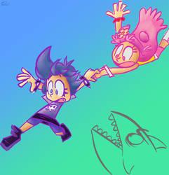 Jumping the Shark by Piggybank12