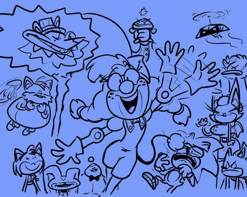 A Bunch of Goofballs