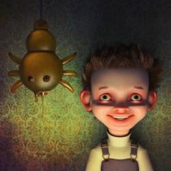 Jelly Spider Friend by Wetterschneider