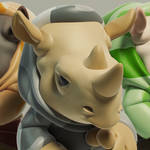 Rhino Kid Urban Vinyl Toy
