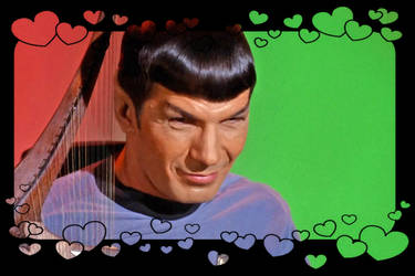 Spock smile by Snapelove14