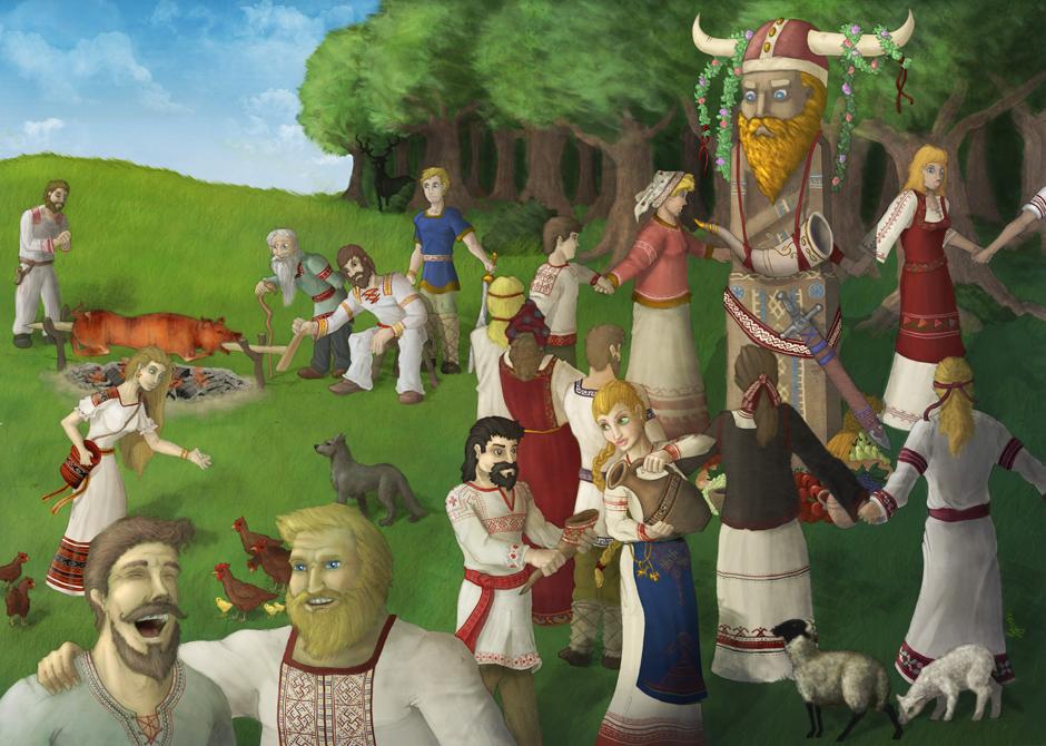 Slavic Feast by DuszanB