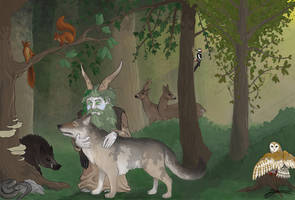 Leshy and friends by DuszanB