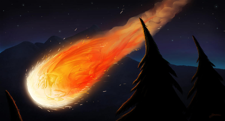 Meteor by DuszanB on DeviantArt
