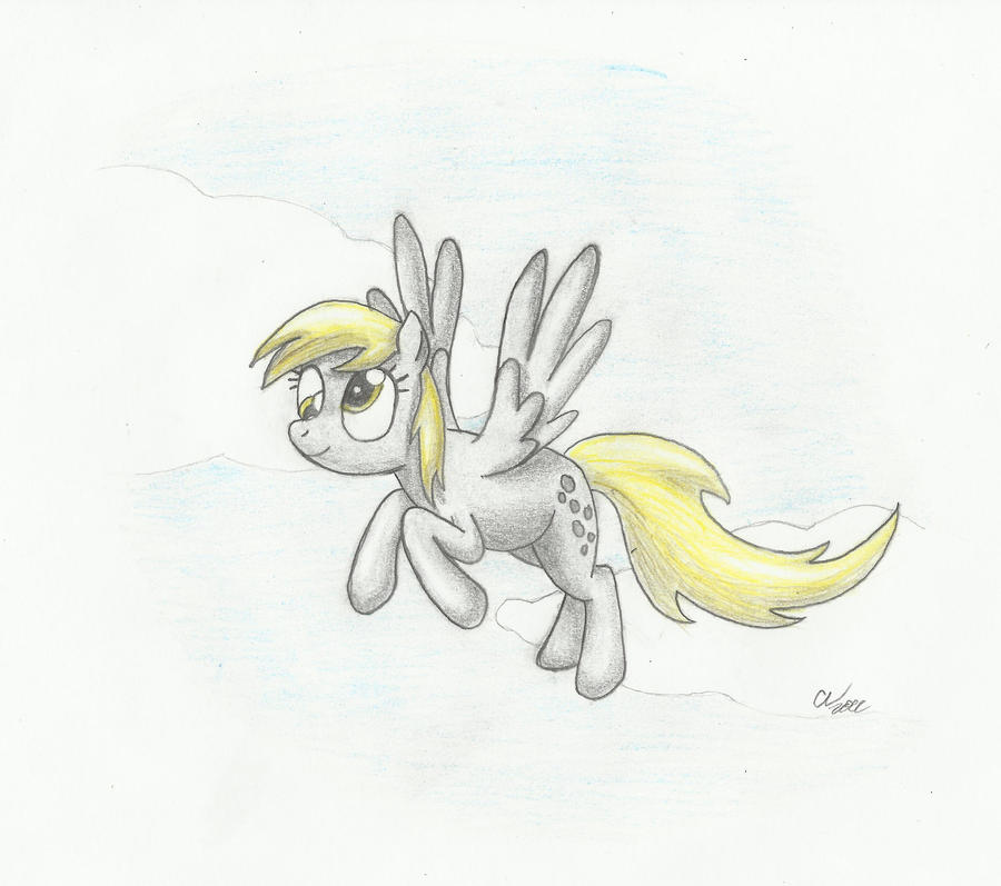 Derpy Hooves Pencil by Sakaerion