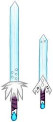 Atashi's New Swords by Atashi-Cloud