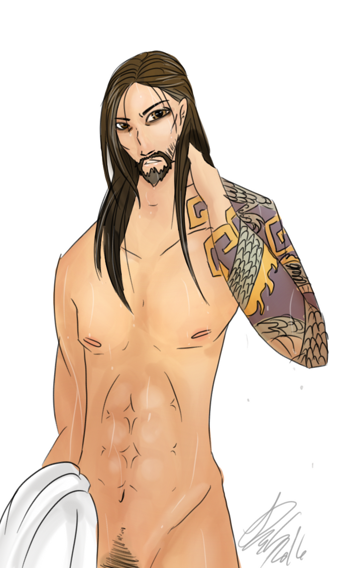 I am Hanzo trash, somebody please help by AzimuthsDigitalArt